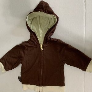Babysoy Hooded Jacket 0 - 6 Months